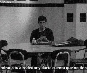 alone, logan lerman, and frases image