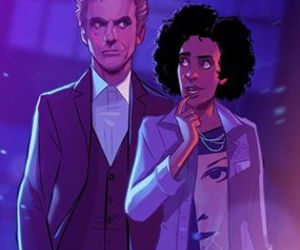 bill, companion, and doctor who image