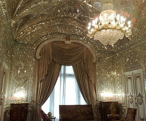 luxury, gold, and room image
