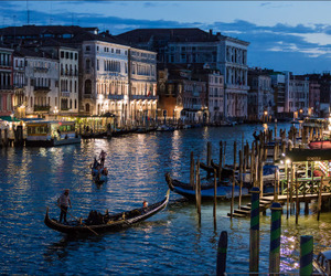 beautiful place, italy, and night image