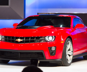 chevrolet, sport car, and camaro zl1 image