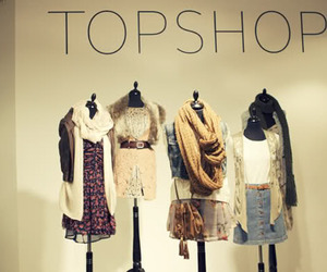 fashion, clothes, and topshop image