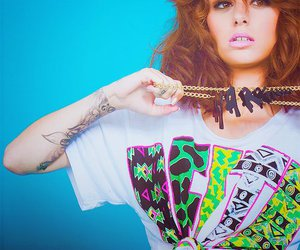 cher lloyd, singer, and tattoo image