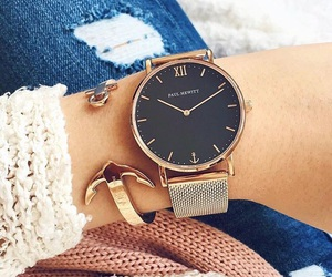 gold, watch, and paul hewitt image