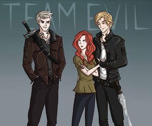 jace, clary, and sebastian image