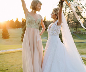 Taylor Swift, wedding, and dress image