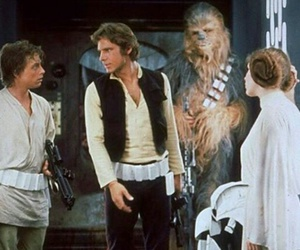 star wars, han solo, and luke skywalker image