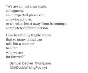 beauty, change, and fragile image