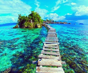 blue, summer, and paradise image
