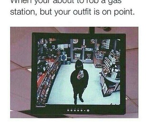 funny, lol, and outfit image