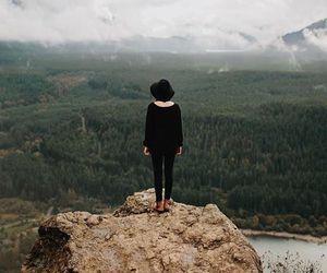 girl, nature, and grunge image