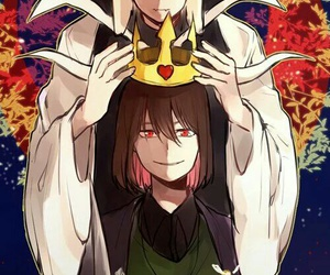 undertale and chara image