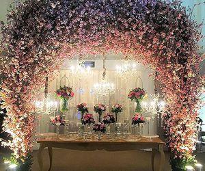 beautiful, pink, and casamento image