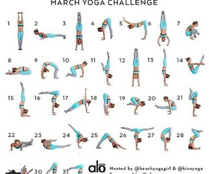 yoga, fitness, and sport image