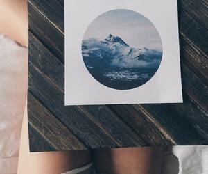 aesthetic, wanderlust, and mountains image