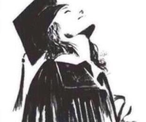 art and graduation image