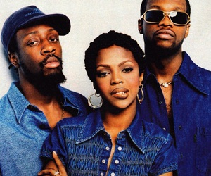 the fugees, 90s, and lauryn hill image