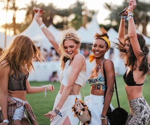 coachella, friends, and taylor hill image