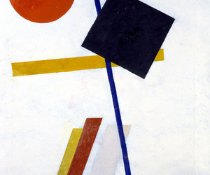 art, Malevich, and paint image