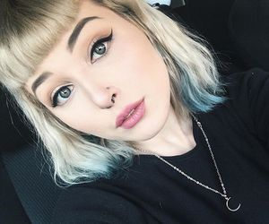 alternative, beauty, and blonde hair image