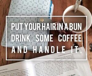 coffee, study, and bun image