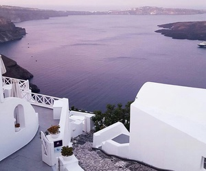 Greece, purple, and water image