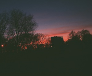 landscape, sunset, and tumblr image