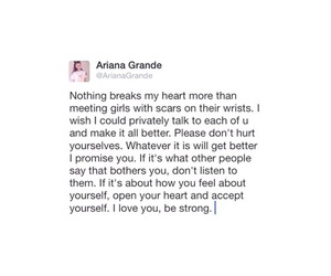 quotes and ariana grande image