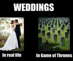 game of thrones and wedding image