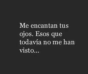frases, eyes, and spanish image