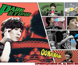 block b, kyung, and park kyung image