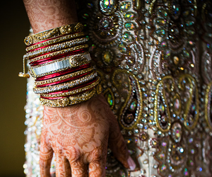 accessories, bangles, and indian bride image