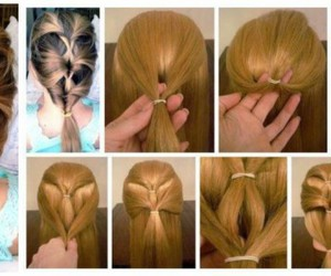beauty, style, and braided hairstyles image