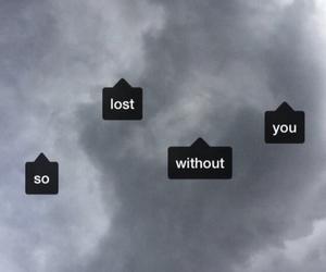 lost, grunge, and sad image