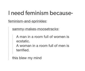 quote, feminism, and love image