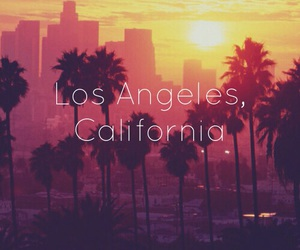 background, los angeles, and california image