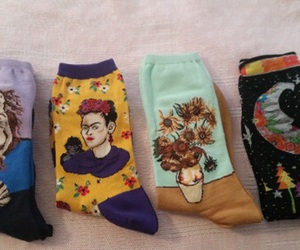 socks, art, and aesthetic image