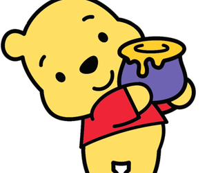 cute, honey, and pooh image