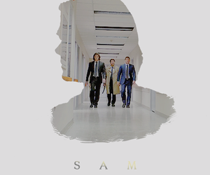 sam winchester, supernatural, and spnedit image