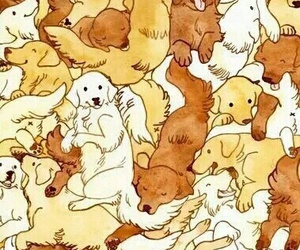 background, dogs, and puppies image