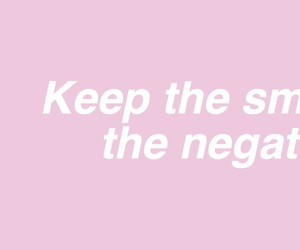 baby pink, happy, and inspirational image