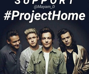 home, one direction, and projecthome image
