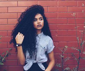 long curly hair, super long hair, and very long hair image