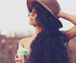 curly hair and natural hair image