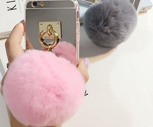 pom pom, phone case, and cell phone case image