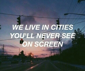 city, quotes, and grunge image