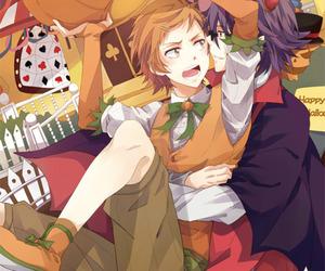 anime, Halloween, and yaoi image