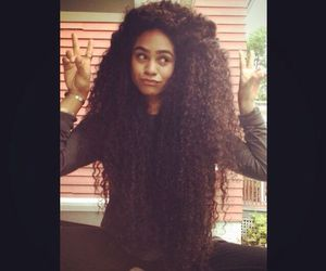 long curly hair, very long hair, and super long hair image