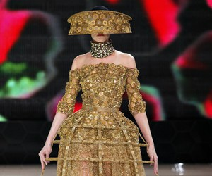 Alexander McQueen, dress, and fashion image
