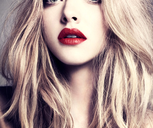 amanda seyfried, blonde, and lips image